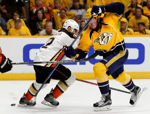 Minus Ryan Johansen, Predators find a way to beat Ducks