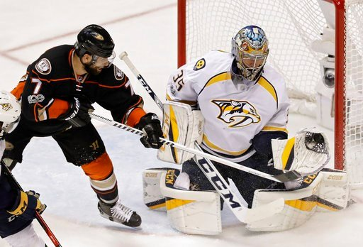 Preds win from ousting Ducks to reach 1st Stanley Cup Final