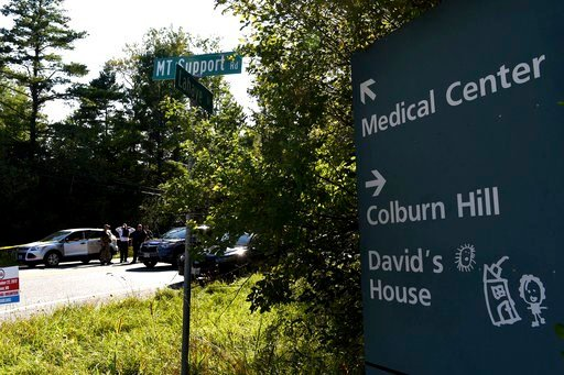(Jennifer Hauck/The Valley News via AP). At the intersection of LaHaye Drive and Mount Support Road in Lebanon, N.H., authorities cordon off the Ford Escape SUV driven by a suspect in an active shooting incident at Dartmouth-Hitchcock Medical Center on...