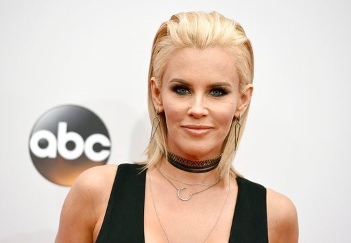 (Photo by Jordan Strauss/Invision/AP, File). FILE - In this Nov. 20, 2016 file photo, Jenny McCarthy arrives at the American Music Awards at the Microsoft Theater in Los Angeles.  McCarthy says actor Steven Seagal sexually harassed her during a 1995 au...