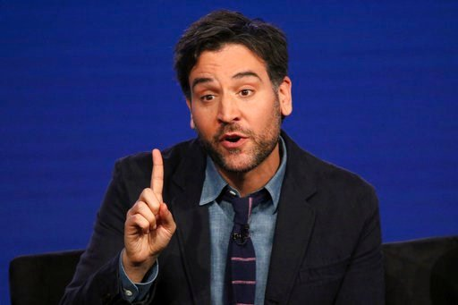 """(Photo by Willy Sanjuan/Invision/AP). Josh Radnor participate in the """"Rise"""" panel during the NBCUniversal Television Critics Association Winter Press Tour on Tuesday, Jan. 9, 2018, in PAsadena, Calif."""