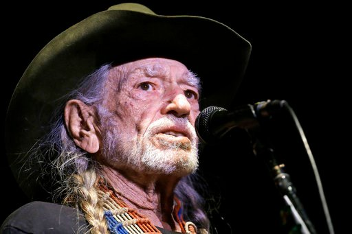 (AP Photo/Mark Humphrey, File). FILE - In this Jan. 7, 2017, file photo, Willie Nelson performs in Nashville, Tenn. Nelson has cancelled shows in Nevada and California after leaving a concert in San Diego after performing one song. The San Diego Union-...